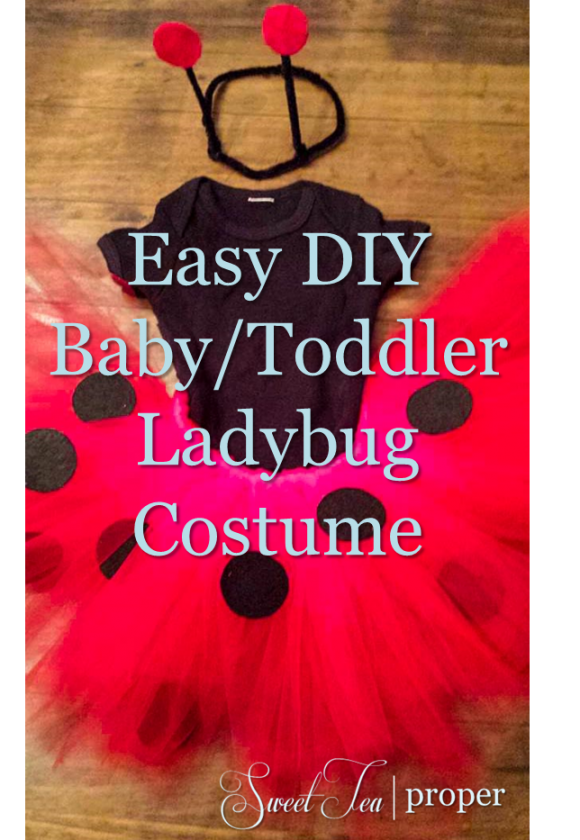 Ladybug costume sweet tea proper if youre questioning whether you can do this know that this project is so easy that i completed it with a sleeping baby on my lap you can do it solutioingenieria Images